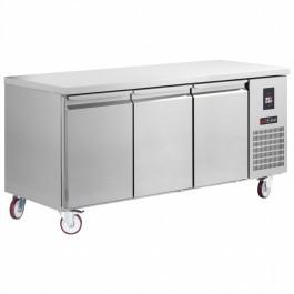 Gemm TG7/170 Platinum Range Gastronorm Three Door Counter Refrigerator