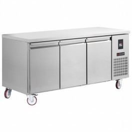 Gemm TGB7/170 Platinum Range Gastronorm Three Door Counter Freezer