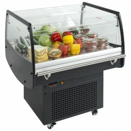 Tefcold PDC90 Glass Impulse Cooler / Spider Fridge in Black