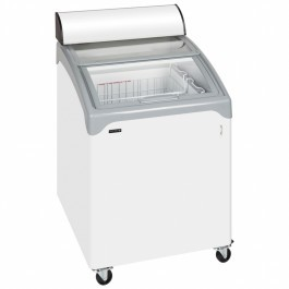 Tefcold NIC100CP Sliding Curved Lid Chest Freezer with Light Canopy