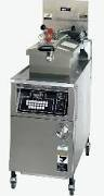 BKI LGF-FC Gas Pressure Fryer with Touchpad Controls