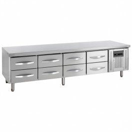 Tefcold UC5360-I Low Height 3 x 1/2 Drawer GN 1/1 Gastronorm Counter