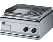 Lincat GS6/TR/E Silverlink 600 Electric Half Ribbed Griddle with Extra Power