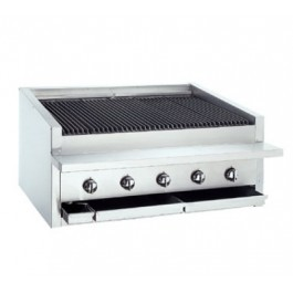 """Bakers Pride L-36R Heavy Duty Counter Top 36"""" Gas Radiant Chargrill"""
