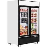 Interlevin LGF5000 Glass Double Door Display Freezer
