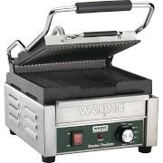 Waring WPG150K Single Fast Heat Up Ribbed Panini Grill  - CF230