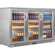 Interlevin PD30HSS Stainless Steel Bottle Cooler with Hinged Doors 6
