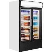 Tefcold FSC1200H Double Glass Door Upright Refrigerator 2
