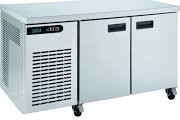 Foster Xtra XR2H Stainless Steel Two Door Counter Fridge