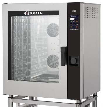 Giorik MOVAIR MTE10W Combi Bake Off 10 x GN 1/1 Oven & Wash System