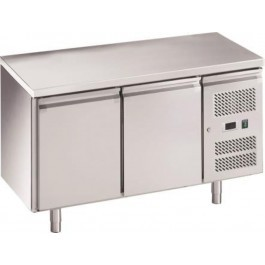 Chefsrange RC2H Two Door 1/1GN Size Fridge Counter with Casters