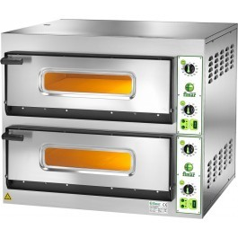 """Fimar FES 4+4 Twin Deck Electric Pizza Oven for 8 x 12"""" Pizzas"""
