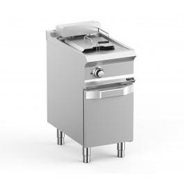 Hobart Ecomax HEFRBE74A  Double Well Freestanding Electric Fryer - 12 Litres