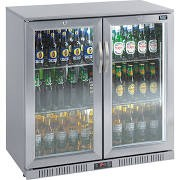 Lec BC9097ST LED Hinged Door High Efficiency Stainless Steel Bottle Cooler 2