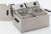 Roller Grill FD80D Double Countertop Fryer 1