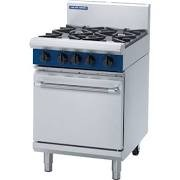 Blue Seal G504D Static Gas Oven Range with 4 Open Burners