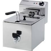 Maestrowave MSF8T Single Fryer with Drain Tap & Lift off Head - 6 Litres