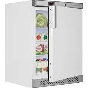 Tefcold UR200B Under Counter White Fridge