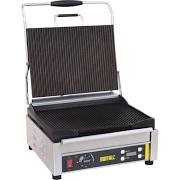 Buffalo L518 Contact Grill Large Ribbed/Ribbed 1