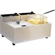 Buffalo L485 Double Fryer