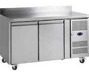 Tefcold CF7210P SS Two Door Gastronorm GN 1/1 Freezer Counter