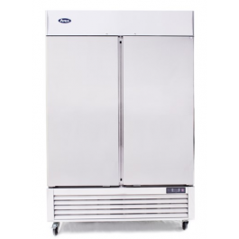 Ice-A-Cool ICE8960 Upright Stainless Fridge with Bottom Mounted Compressor