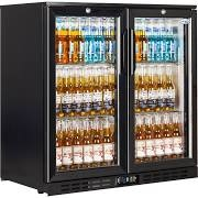 Interlevin EC20H Low Energy Bottle Cooler with Sliding Doors