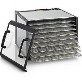 Excalibur 9 Tray Stainless Steel Dehydrator With Timer - 10417-03