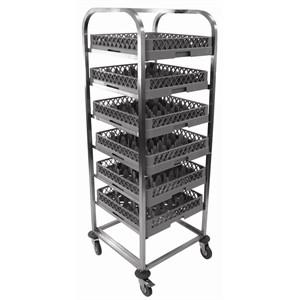 Craven DL1-Z  Stainless Steel Dishwasher Basket Trolley