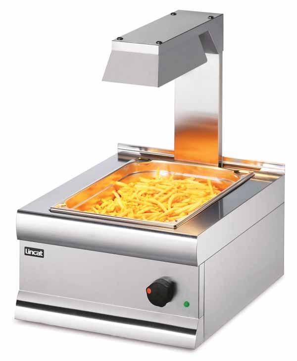 Lincat CS4/G Silverlink 600 Chip Scuttle With Overhead Gantry