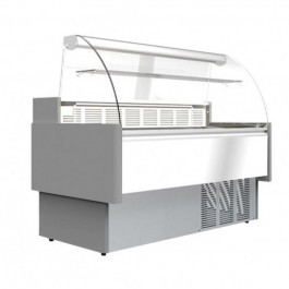 Prodis A25C Araya Serve Over Counter with Curved Glass