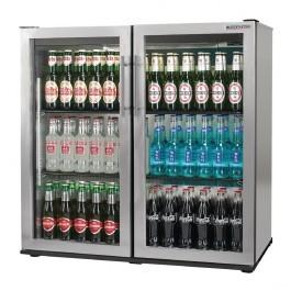Autonumis A215182 Popular Stainless Steel Hinged Door 3 Foot Bottle Cooler