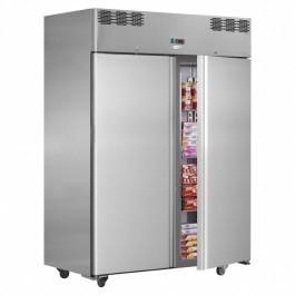 Interlevin Italia Range AF14BT Twin Door Gastronorm Upright Freezer