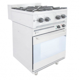 Parry NPEOAG4H Electric Oven NPEO with AGAH Gas Hob