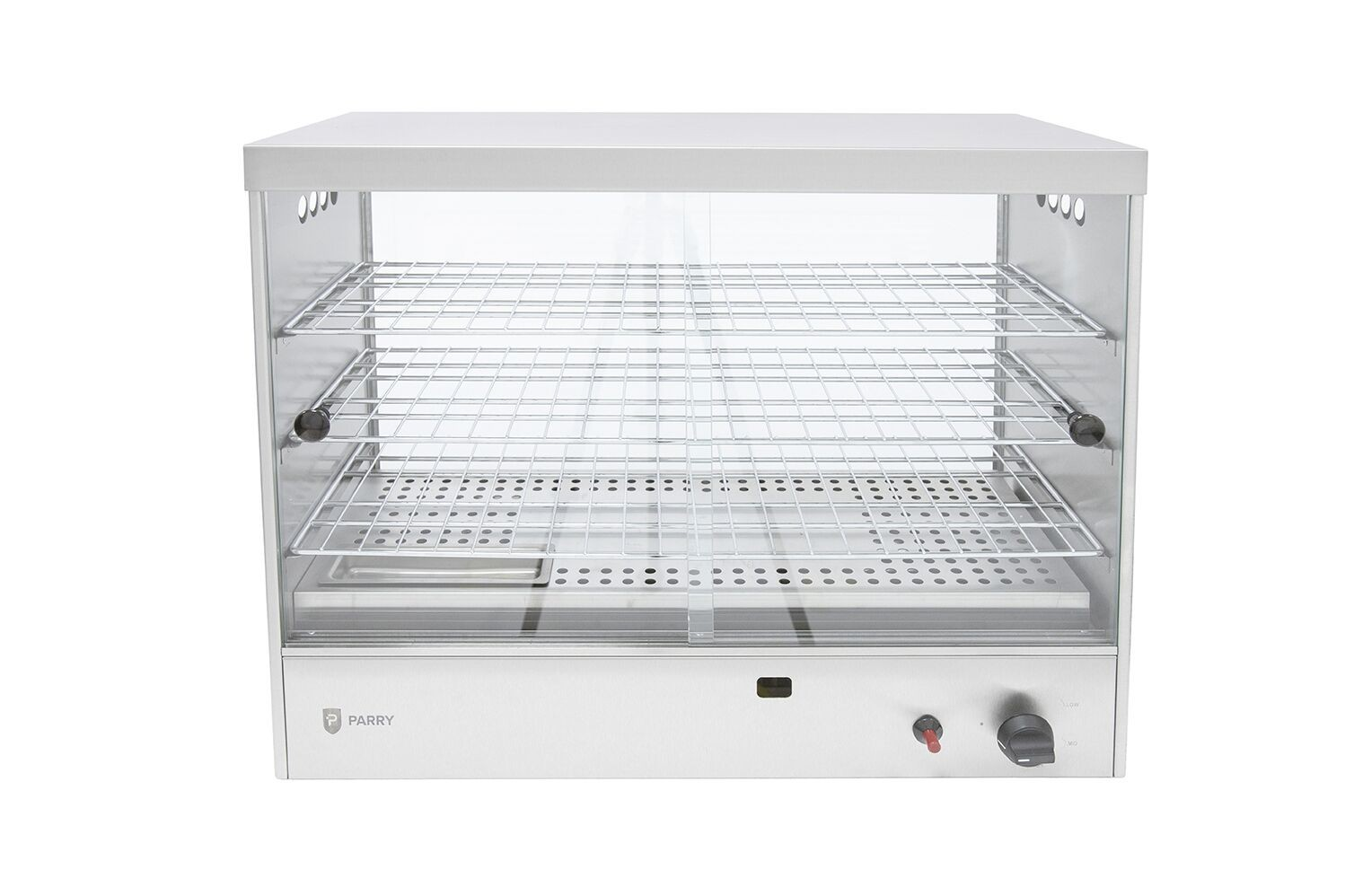 Parry AGPC1 Propane Gas Pie Cabinet with Three Shelves