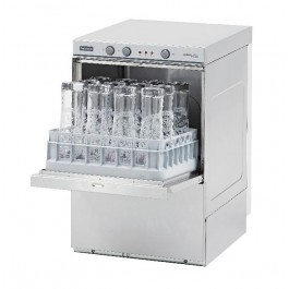 Halcyon Amika AMH35D Undercounter Glasswasher with Drain Pump