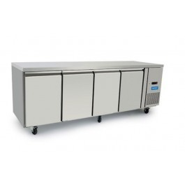 Arctica HED498 Four Door GN 1/1 Refrigerated Prep Counter - 560 Litres