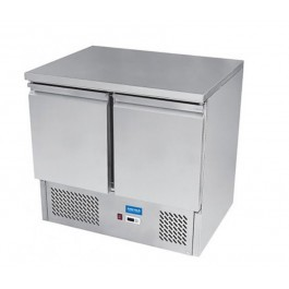 Arctica HED499 Two Door Compact Refrigerated Prep Counter - Width 900mm