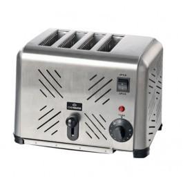 Chefmaster HEA895  4 Slot Stainless Steel Toaster