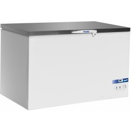 Prodis AR350SS Stainless Steel Lid Chest Freezer