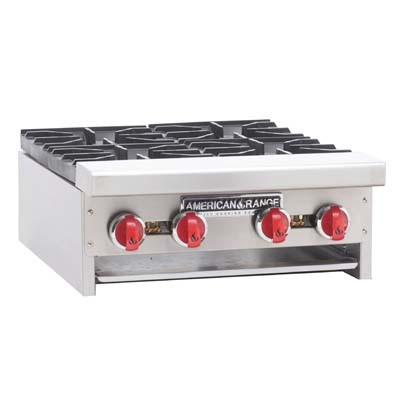 "American Range ARHP-24-4 Heavy Duty 24"" Boiling Top with 4 Burners"