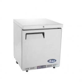 Atosa MBC24R Stainless Steel Undercounter Single Solid Door Fridge