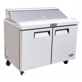 --- ATOSA MSF8302 --- Two Door Counter with 6 x 1/3 GN Pans & Cutting Board