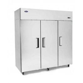 Atosa YBF9242GR Slimline Stainless Steel Top Mounted Triple Door Freezer