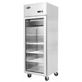Atosa YCF9401GR Stainless Steel Single Door Display Refrigerator