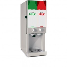 Autonumis PZC00012 Miniserve in Stainless Steel 2 x 3.0 Litre Milk Dispenser