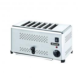 --- BLIZZARD B6ST --- Stainless Steel 6 Slice Toaster