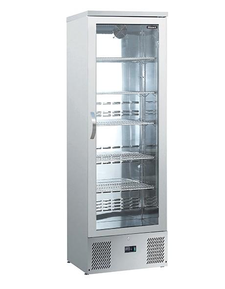 --- BLIZZARD BAR10SS --- Upright Single Back Bar Stainless Steel Bottle Cooler