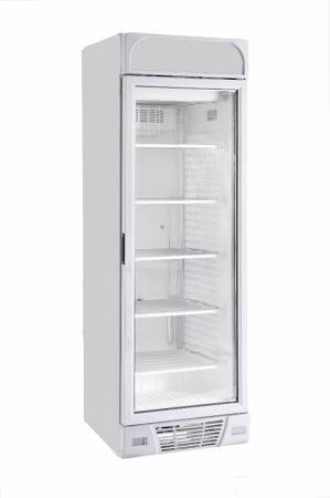 Sterling Pro BBVF372-HC Upright Display Freezer with Illuminated Canopy