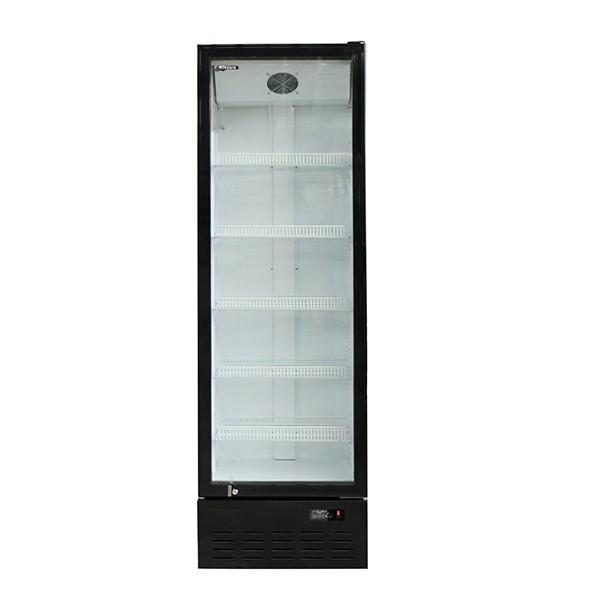 Blizzard BC350 Single Glass Door Merchandiser with 5 Adjustable Shelves
